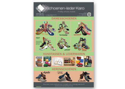 JDB-IT Grafisch design: Advertentie Schoenen Karo