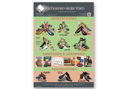 JDB-IT Grafisch design: Advertentie Schoenen Karo
