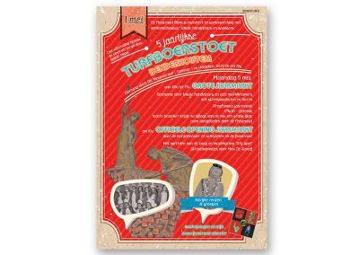 JDB-IT Grafisch design: Affiche Turfboerstoet