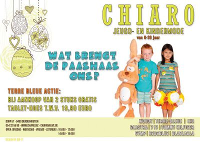 JDB-IT Grafisch design: Advertentie Chiaro