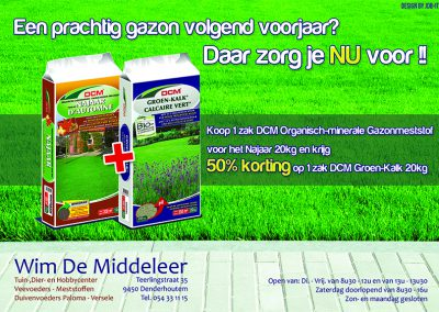 JDB-IT Grafisch design: Advertentie Wim De Middeleer