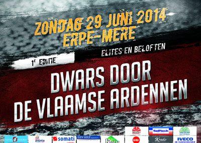JDB-IT Grafisch design: Affiche Dwars door de Vlaamse Ardennen