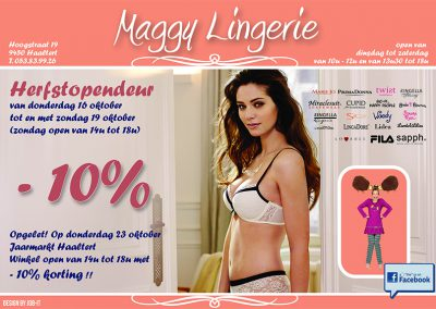 JDB-IT Grafisch design: Advertentie Maggy Lingerie