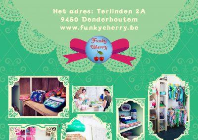 JDB-IT Grafisch design: Uitnodiging Funky Cherry