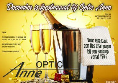 JDB-IT Grafisch design: Advertentie Optic Anne