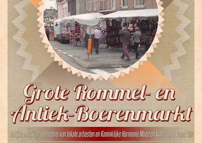 JDB-IT Grafisch design: Affiche Rommelmarkt