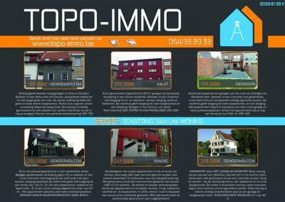 JDB-IT Grafisch design: Advertentie Topo-Immo